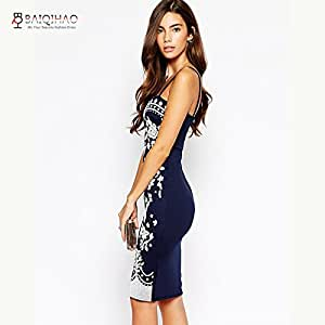 Club Dresses Bandage Dress Summer Vestidos H67 M : Sports & Outdoors