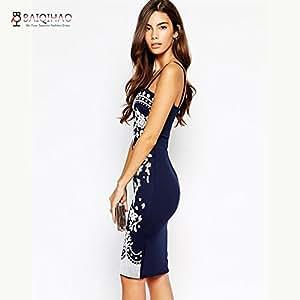 Amazon.com : BQH Summer Dress For Women Vestido Ethnic Bodycon Women