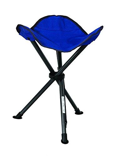 Peak Performance Folding Camping Stool Blue Furniture