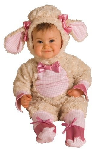 Kids Newborn Costume Infant Animal Lamb Outfit