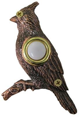 Company's Coming DBZ-021 Cardinal Bronze Doorbell Cover