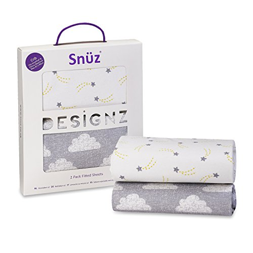 snuz-crib-fitted-sheets-cloud-nine-print-fits-snuzpod-and-chicco-next2me