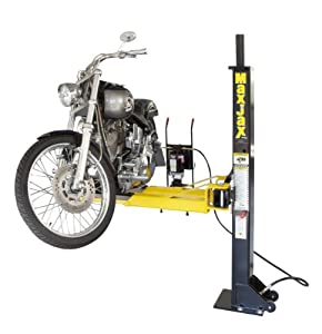 Dannmar MaxJax Portable 6,000-lbs. capacity Portable 2-Post Lift from Dannmar