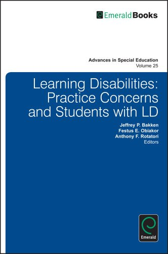 Learning Disabilities: Practice Concerns and Students With LD (Advances in Special Education)