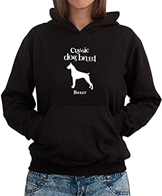 Classic Dog Breed Boxer Women Hoodie