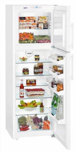 Liebherr CTP 3316-21 Comfort Autonome Blanc 236L 76L A++ - réfrigérateurs-congélateurs (Autonome, Placé en haut, A++, Blanc, SN, ST, LED)