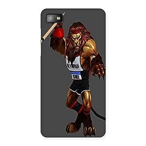 AJAYENTERPRISES Tiger Sword Back Case Cover for Blackberry Z10