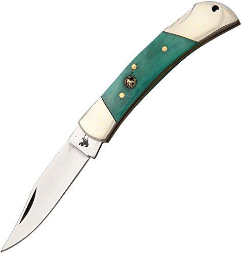 Frost Cutlery & Knives WT110GSB Whitetail Lockback | Bone Handle