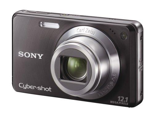 SONY デジタルカメラ Cybershot W270 (1210万画素/光学x5/デジタルx8/ブラック) DSC-W270/B
