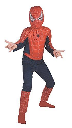 Spiderman Movie Ch 7 To 10 Std Kids Boys Costume