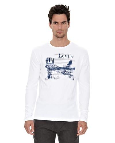 Levi's Camiseta Graphic Tee Blanco