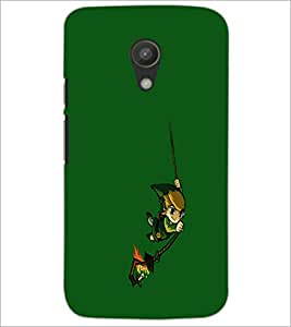PrintDhaba cartoon D-2455 Back Case Cover for MOTOROLA MOTO G2 (Multi-Coloured)