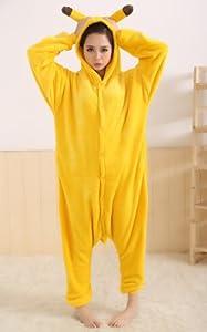 Animal Cosplay Déguisements pour adultes et enfants Pyjamas Vêtements de nuit Déguisements Cadeaux pour enfants et adultes à Noël, Halloween et pour Carnaval Pikachu XL / ( your height: 178 - 188cm )