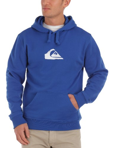 Quiksilver Hood Rib Logo Men's Sweatshirt Royal Small