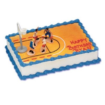 Boys Basketball Cake Decorating Kit - 1