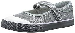 See Kai Run Florence Mary Jane Sneaker (Toddler/Little Kid), Silver, 10.5 M US Little Kid