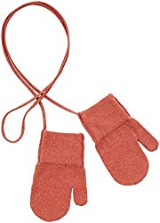 Anais and I Baby Girls' Mittens (Toddler/Kid) - Coral - Small
