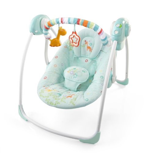 Bright Starts 6963 - Savannah Dreams Portable Swing - Portable Babyschaukel