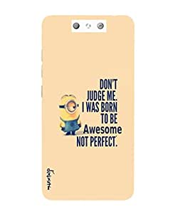 Premium Quality Mousetrap Printed Designer Full Protection Back Cover for RELIANCE LYF EARTH 2-121