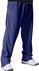 Buy Alleson Youth Basketball Breakaway Warm-Up Pants NA - NAVY YL by Alleson Athletic