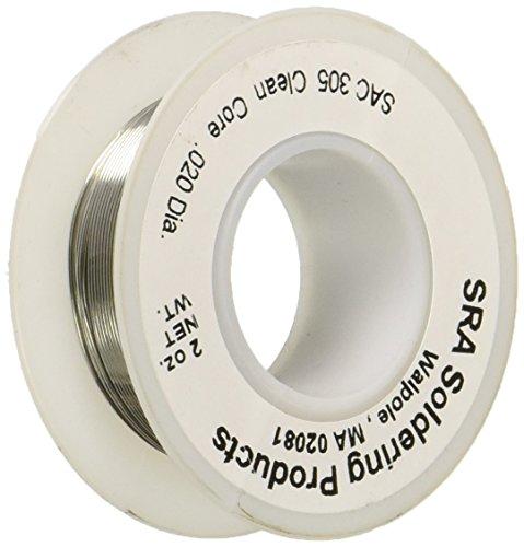 lead-free-no-clean-flux-core-silver-solder-sac305-020-inch-2-ounce-spool