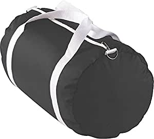 Augusta Sportswear NYLON SPORT BAG OS Black