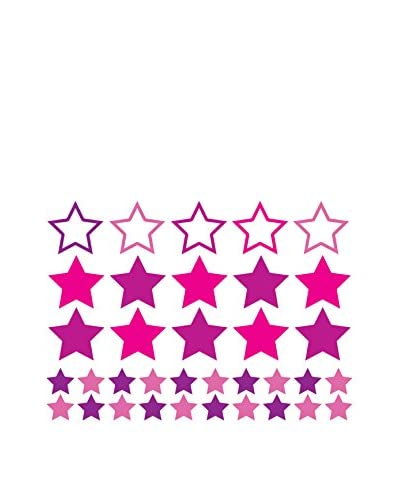 Ambiance Live Vinile Decorativo 35 pezzi Stars