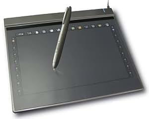 Odys Multi Grafik Board (125rps, kabelloser Stift, USB 2.0) grau