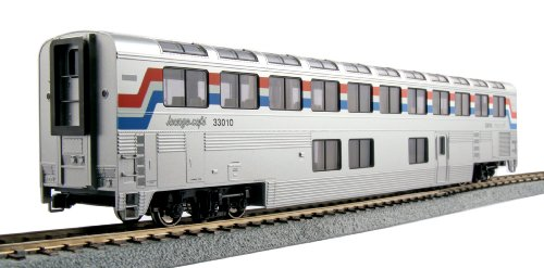 Kato USA Model Train Products Amtrak #33010 Phase III Superliner Lounge (Amtrak Train Model compare prices)