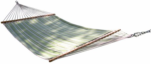 Vivere Sunbrella Quilted Double Hammock, Foster Surfside