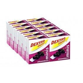 Dextro Energy Minis Blackcurrant (12-pack) by Dextro (Dextro Energy Minis compare prices)