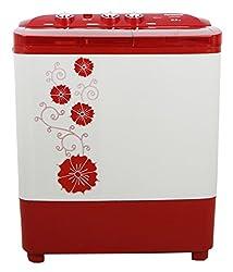 Panasonic NA-W65B3RRB Semi-automatic Top-loading Washing Machine (6.5 Kg, Red)