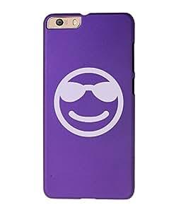 KolorEdge Back Cover For Micromax Canvas Knight 2 E471 - Purple (1236-Ke15099MmxE471Purple3D)