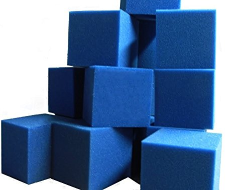Foam-Pits-Gymnastic-Training-Pit-Trampoline-Pit-Skateboard-Pits-Children-Playhouse-Protection-Foam-BlocksCubes-1000-pcs-6x6x6-Blue