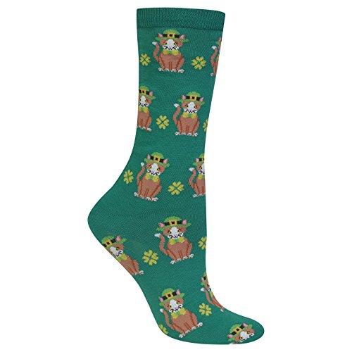 hot-sox-womens-st-patricks-day-cat-sock