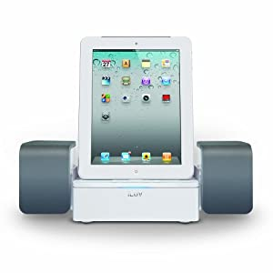 iLuv Audio Cube Hi-Fidelity Speaker Dock for iPad, iPhone and iPod