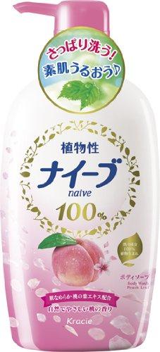 ナイーブソープ桃の葉 ジャンボ 580ml
