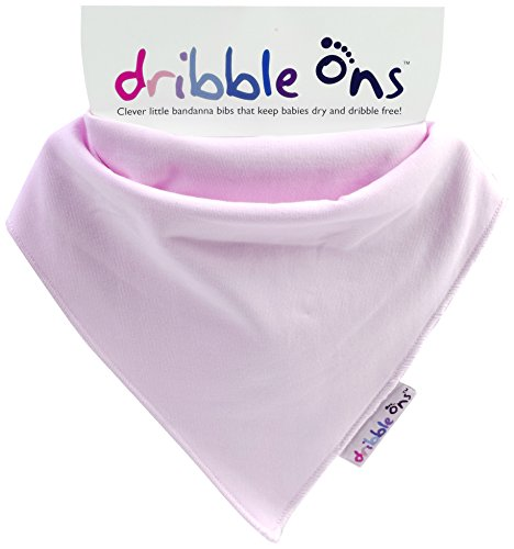 Baby Pink Dribble Ons Dribble Bib