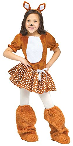 Oh Deer! Fuzzy Toddler/Child Costume Size:Toddler Large