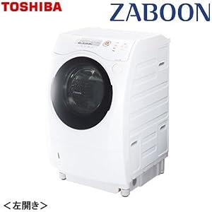 東芝 9.0kg ドラム式洗濯乾燥機【左開き】ピュアホワイトTOSHIBA ZABOON(ザブーン) TW-Z380L-W