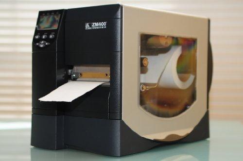 Zebra ZM400-2001-0000T model ZM400 Thermal Label Printer, Monochrome, 10 in/s Mono, 203 dpi, 16 MB Memory, USB, Serial, Parallel, 110V AC and 220V AC 0000t Zebra
