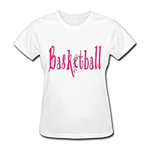 Fashion Basketball Womens Tees O-Neck