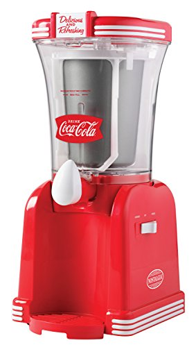Best Buy! Nostalgia RSM650COKE Coca-Cola 32-Ounce Slush Drink Maker