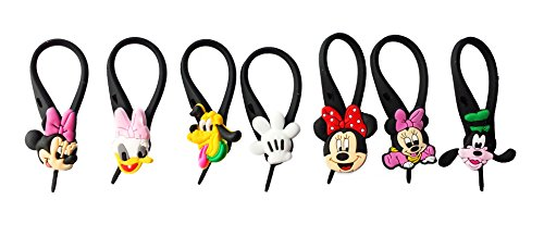 AVIRGO 7 pcs Soft Zipper Pull Charms for Backpack Bag Pendant Jacket Set # 72-3 - 1
