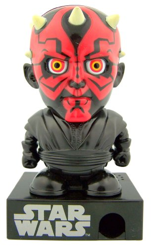 "Mens Womens Star Wars Ultimate Fan Gift - 5"" Darth Maul Sith Lord Hard Candy Dispenser"
