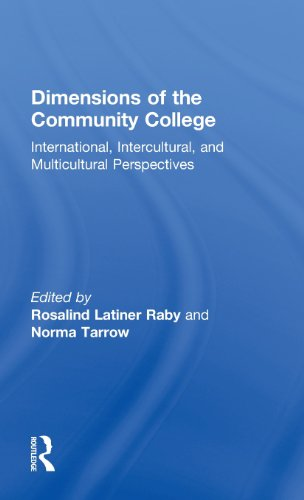 Dimensions of the Community College: International, Intercultural, and Multicultural Perspectives (RoutledgeFalmer Studi