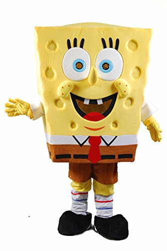 Spongebob Squarepants Fancy Cosplay Mascot Costume