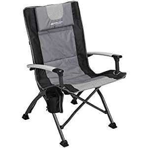 Back Folding Quad Camp Chair/ outdoor/ Camping (Black) from Ozark Trail