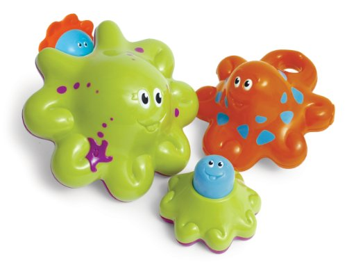 WOW Wet 'n' Wobblies - Bath Toys (3 Piece Set) - 1
