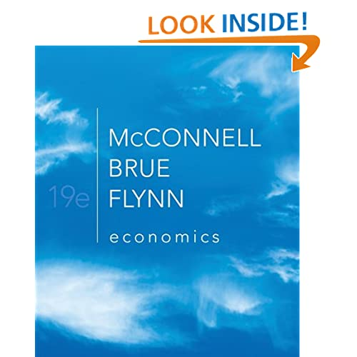 Economics: Principles, Problems, and Policies (The McGraw-Hill Series in Economics)